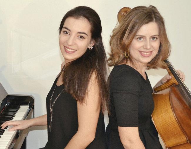 Duo Glück: Laura Sanz, violoncel; Maricel Pons, piano